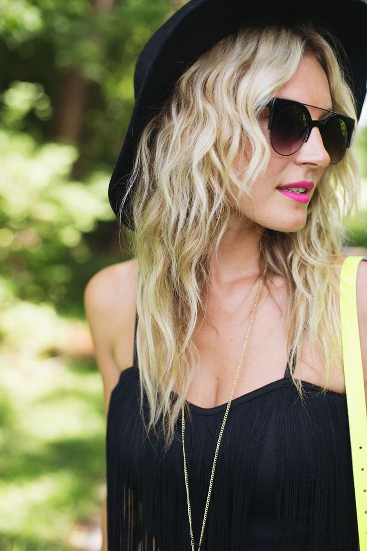 DIY a batch of sea salt spray for beachy waves.