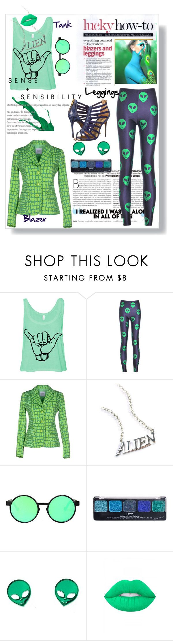 """Wardrobe Staples: Leggings!"" by deeppurplesea ❤ liked on Polyvore featuring Chicnova Fashion, Moschino Cheap & Chic, Disturbia, NYX, Lime Crime, Ted Baker, Leggings and WardrobeStaples"