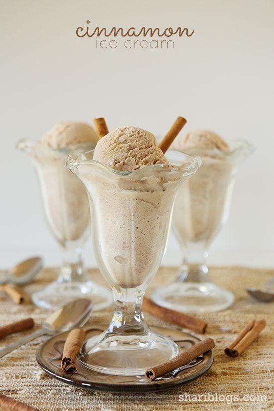 Cinnamon Ice Cream | www.shariblogs.com | #cuisinart #icecream #cinnamon