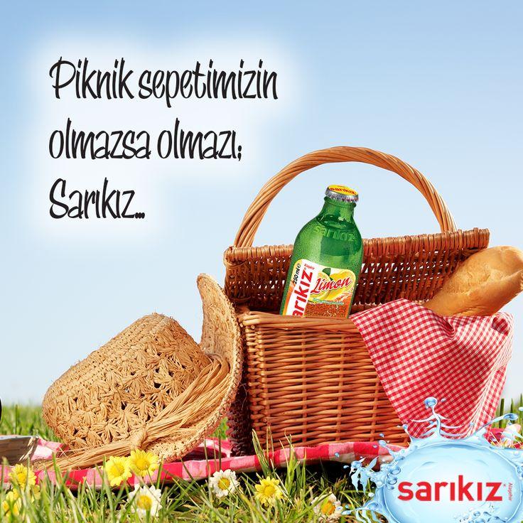 Piknik sepetimizin olmazsa olmazı; Sarıkız... #Sarıkız #Maden #Su #Piknik