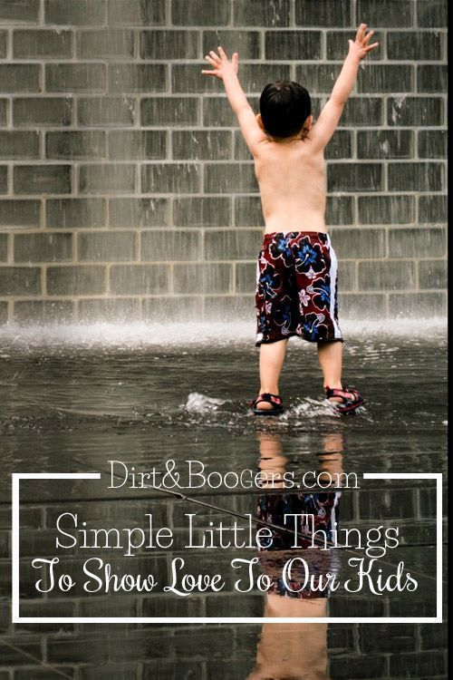 Simple little things for kids. This post has a great idea- that's sometimes it's the really simple, little things, not gifts.