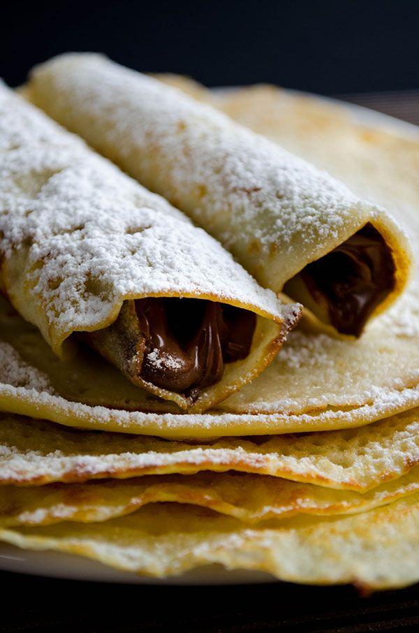 Gluten-Free Nutella Crepes  Nom nom nom