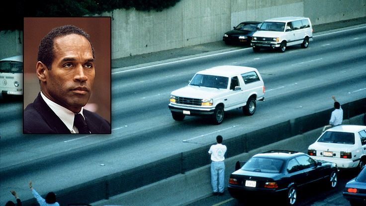 "Twenty years after: The night O.J. Simpson Bronco chase crashed the NBA Finals. 20 years ago, everyone that owned a white Ford Bronco wishes they hadn't when OJ goes slowly down the freeway, ""if the glove does not fit, you must acquit."""