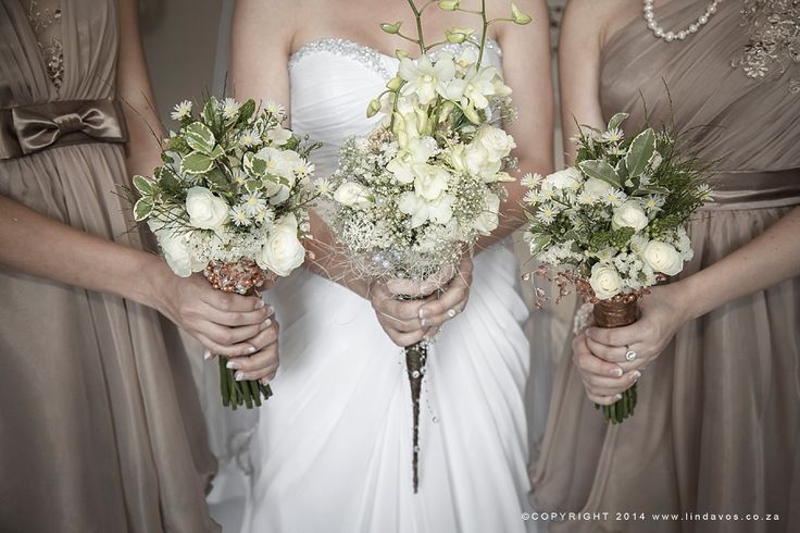 Earthy bouquets for magic forest themed bush wedding. www.lindavos.co.za