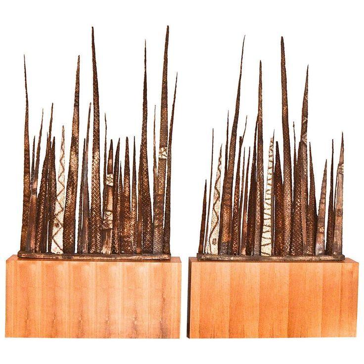 Stalagmite Floor Sculptures