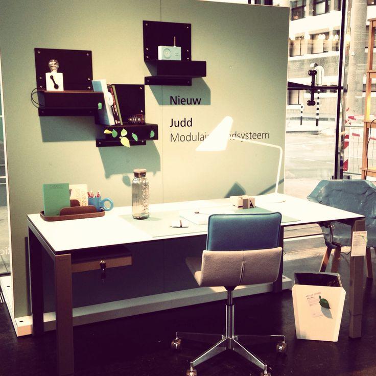 Judd wall system, super new @gispen!