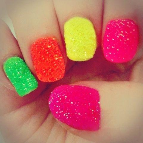 Neon nails!     (pose by originalpiece)