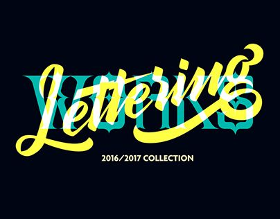 """Check out new work on my @Behance portfolio: """"Lettering Works 2017"""" http://be.net/gallery/60730099/Lettering-Works-2017"""
