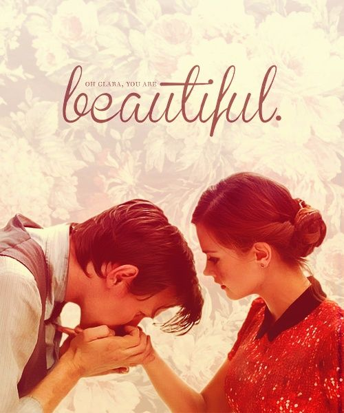 """""""Oh, Clara. Oh. You are beautiful. Beautiful fragile human skin. Like parchment. Thank you."""""""
