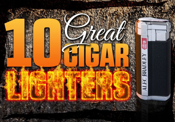 Ah, yes…the cigar lighter. An essential piece of gear for cigar smoking, if there ever was one. From Alec Bradley to Zippo, here are 10 butane torch cigar lighters that – depending on your wants/needs/desires - will do the job nicely…