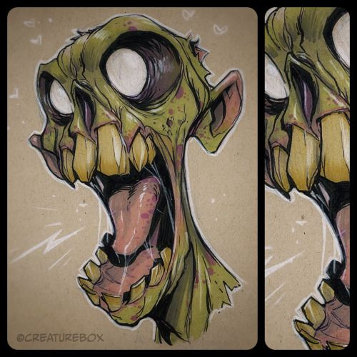 CreatureBox • Franky suddenly remembered the punchline to that...