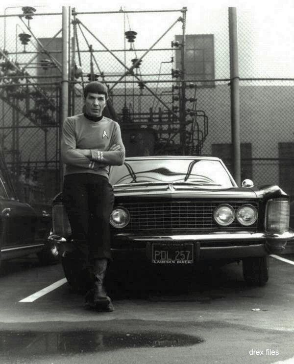 Leonard Nimoy and his 1964 Buick Riviera
