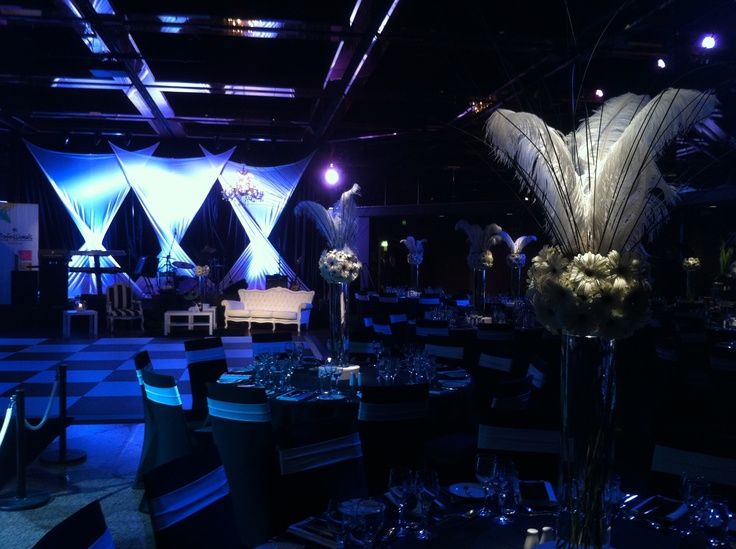 White Sails (twisted) backdrop by Staging Connections at InterContinental Adelaide