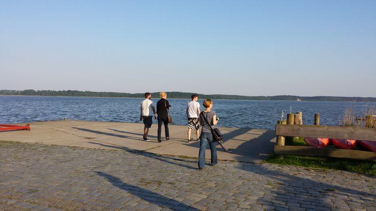 Ankunft im Naturhafen Krummin