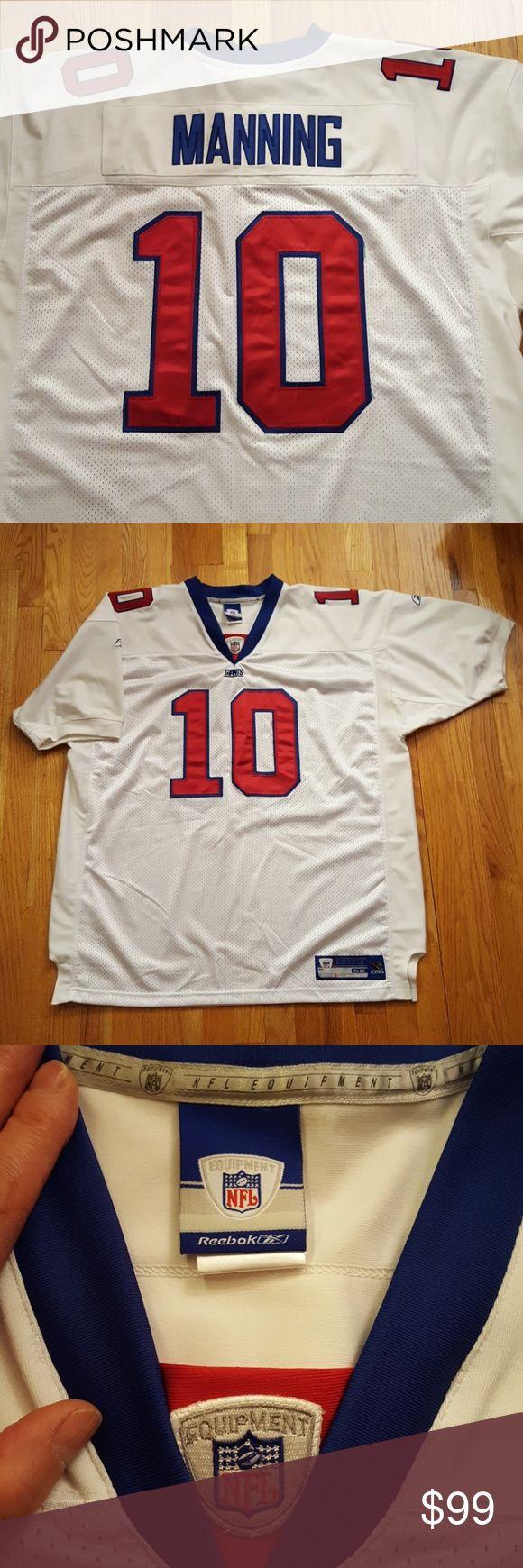 NFL Giants Eli Manning player shirt NFL Giants Eli Manning player shirt Reebok Shirts