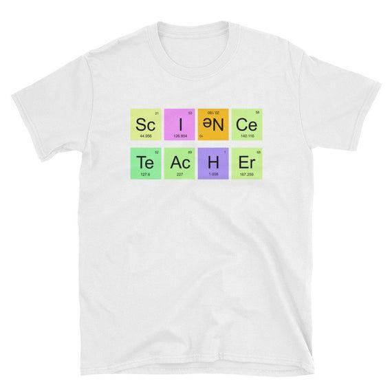 Science Teacher T-Shirt / Teacher Shirt / Gift For Teachers / Teacher Life / Grade Level / Science /