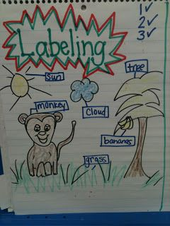 Writer's Workshop: Still labeling and that's OKay!