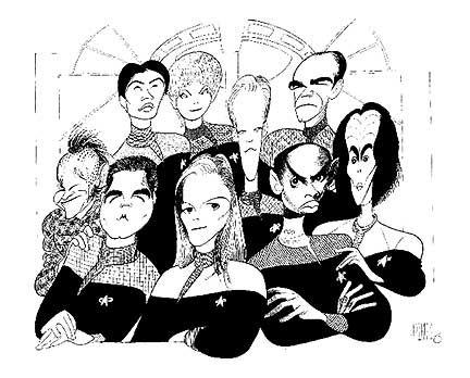 Star Trek Voyager Photo Album