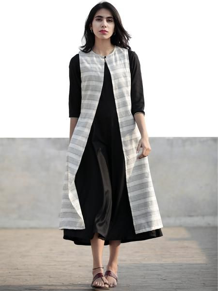 199 best short dress images on pinterest casual gowns cute black ivory hand woven ikat jacket and black rayon dress set of 2 fandeluxe Gallery