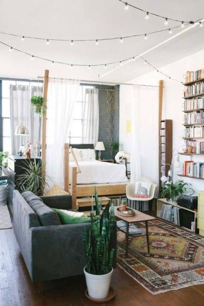 23 bedroom ideas for your tiny apartment Tiny house/ studio apt