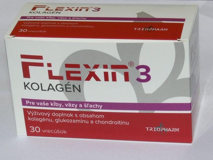 Flexin®3 Kolagén. Flexin®3 Kolagén Unikátne zloženie! Výživa pre obnovu kĺbovej chrupky