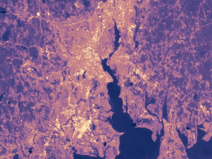 NASA Photographs Highlight Urban Heat Island Problem | Inhabitat - Sustainable Design Innovation, Eco Architecture, Green Building