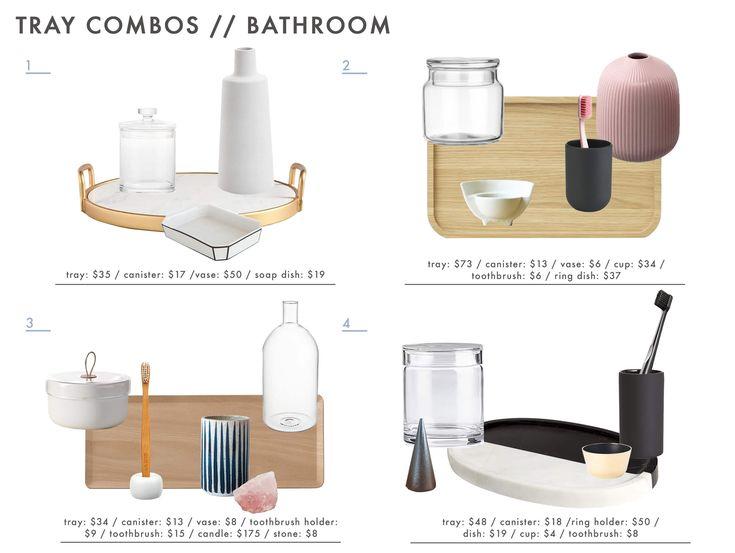 Die besten 25+ Badezimmer Tabletts Ideen auf Pinterest ...