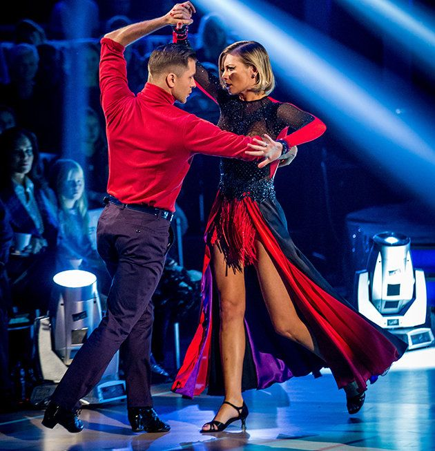 Rachel Riley and Pasha Kovalev initially denied any romance following Strictly. Copyright [BBC]