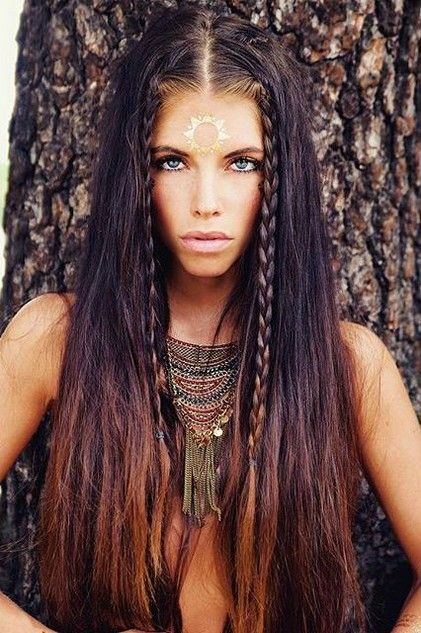 70 Most Gorgeous Messy Boho Bohemian Hairstyles Design For Prom - Page 44 of 69 - Diaror Diary