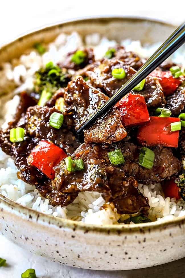 Mongolian Beef With The Best Sauce Ever Carlsbad Cravings