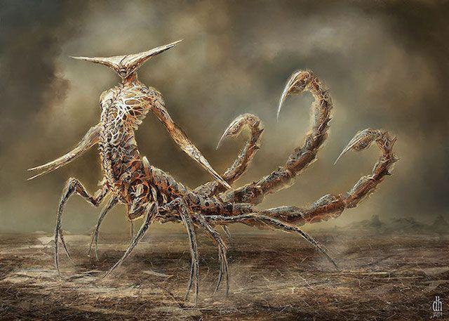 Scorpio Artist: Damon Hellandbrand