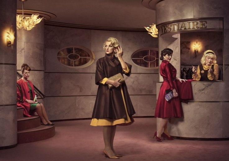 Three sisters | DeLaMar Theater | by Erwin Olaf