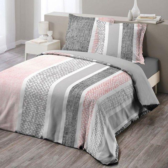 Parure De Lit Textilio Grise 260x240 Home Decor Home Bed Spreads