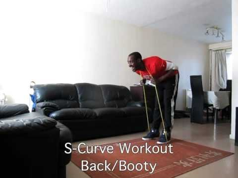 15 Min S-Curve 'Home' Workout Back/Booty