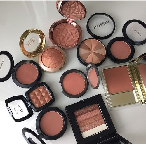 Blushes & Bronzers   We Heart It