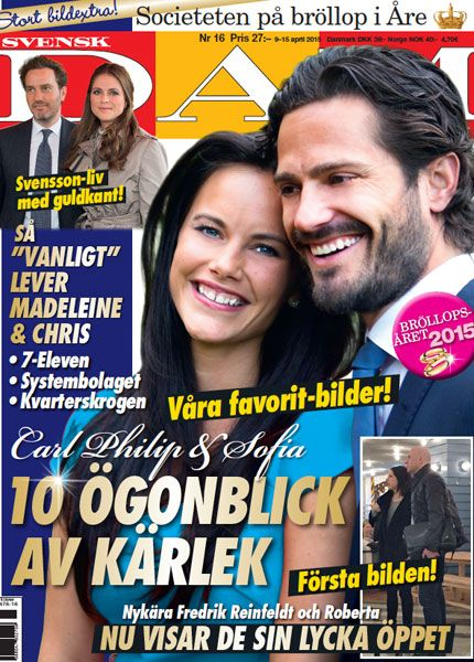 10 moments of love between Prince Carl Philip and Sofia