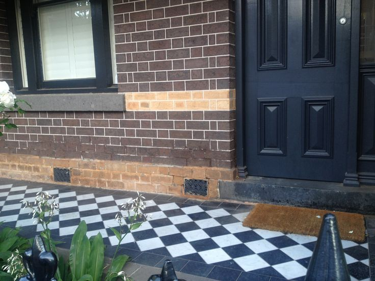 Mason St Hawthorn Brick with charcoal & black