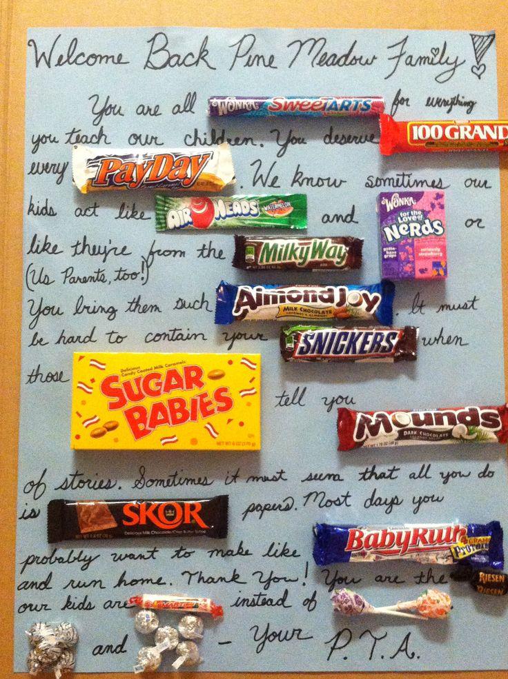17 Best images about Teachers on Pinterest | Teacher candy ...