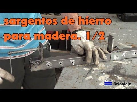 Tutorial - Sargentos metálicos caseros - How to make a Clamp - YouTube