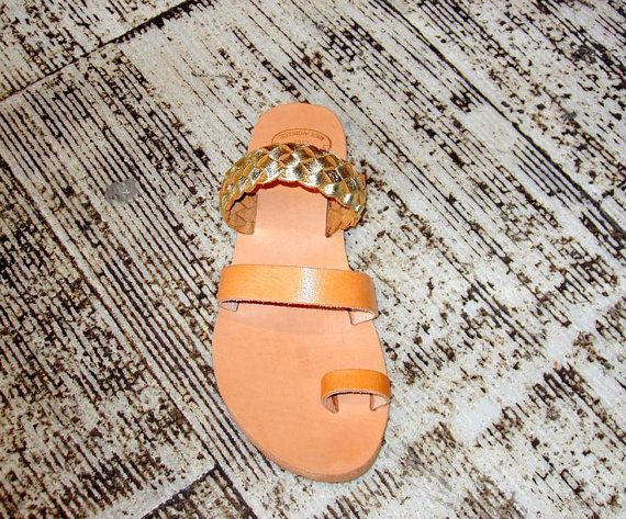 Summer Shoes handmade leather sandals by LeatherDream on Etsy