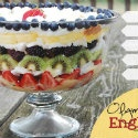 The perfect Olympics-inspired dessert:a berry luscious English trifle.