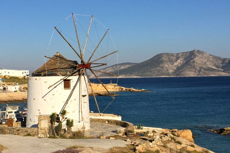 Windmill at Loutro cove on Koufonisia © Carolyn Bain / Lonely Planet