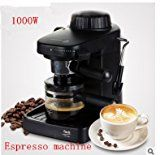 gangnumsky-Automatic espresso Faema Black coffee machine portable drip coffee maker cappuccino with milk steamingBlack.