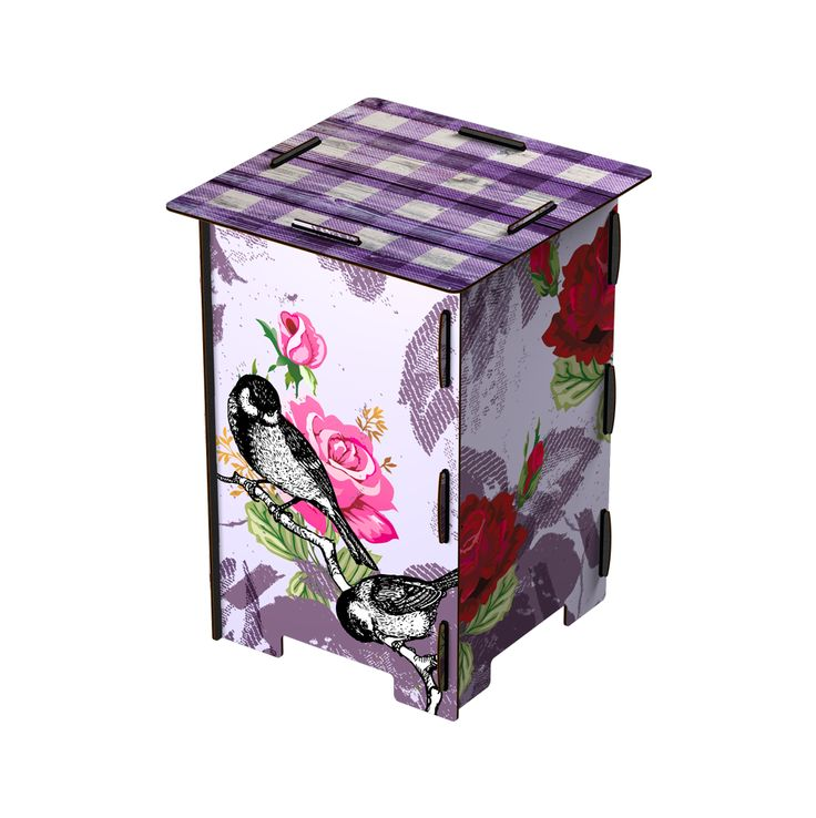 MIHO Rose Garden stool