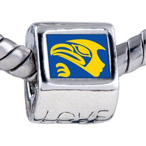 Pugster Bead Eagle Face Beads Fits Pandora Bracelet Pugster. $12.49. Unthreaded European story bracelet design. Hole size is approximately 4.8 to 5mm. Fit Pandora, Biagi, and Chamilia Charm Bead Bracelets. Bracelet sold separately. It's the photo on the love charm