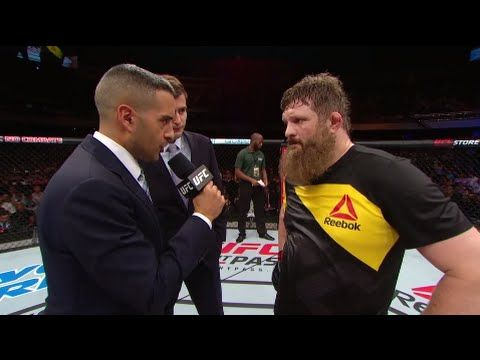 Fight Night Brasilia: Roy Nelson Octagon Interview - YouTube