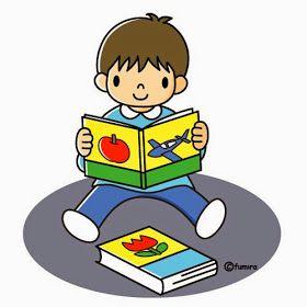 Dibujo para colorear. Niño leyendo un libro.  Dibujo para colorear. Niños con libros.  Dibujo para colorear. Niños jugand...