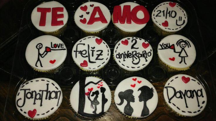 Cupcakes de amor!