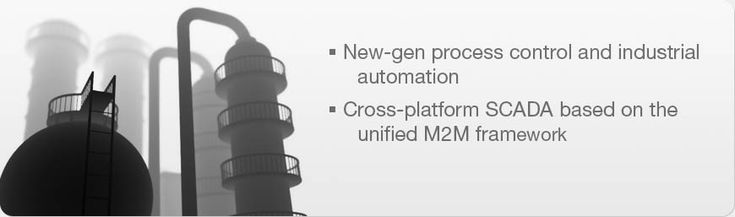 New-gen #process_control and #industrial_automation. Cross-plaform #SCADA based on the unified #M2M_framework