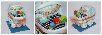 MarieSue: Windeltorten-Kinderwagen für Emilio